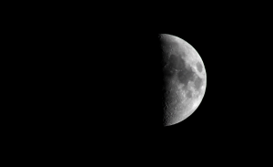 Moon with DSLR