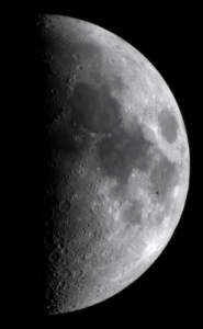 Moon with DSLR and telescope