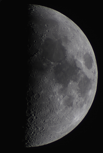 Stacked image with DSLR and telescope