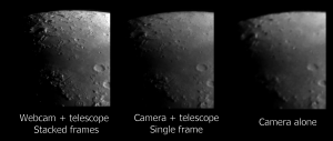 Comparison of Moon detail