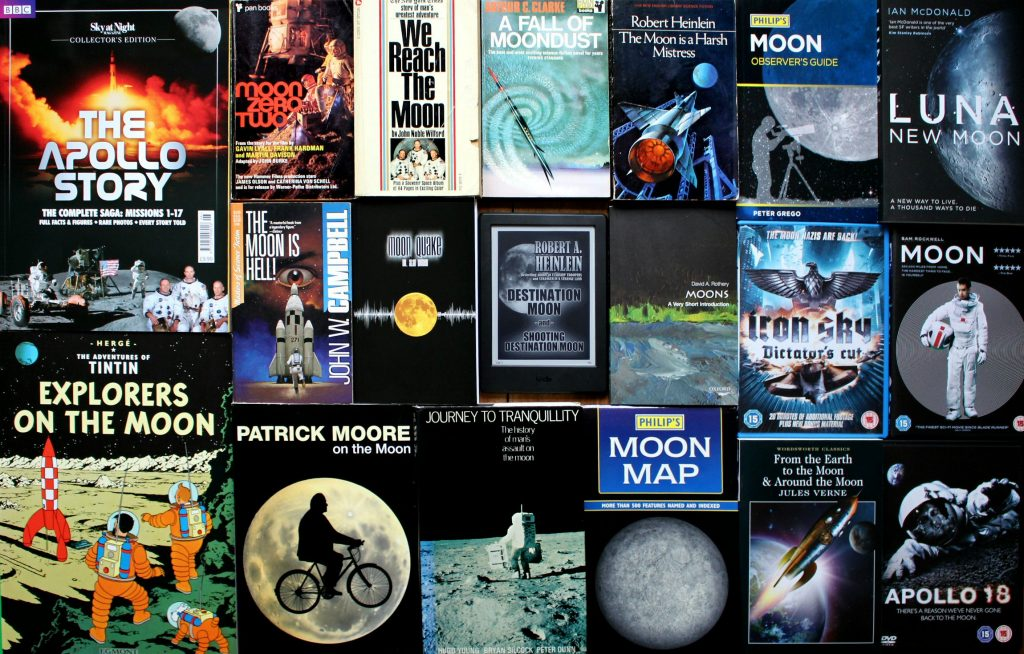 Moon books and films