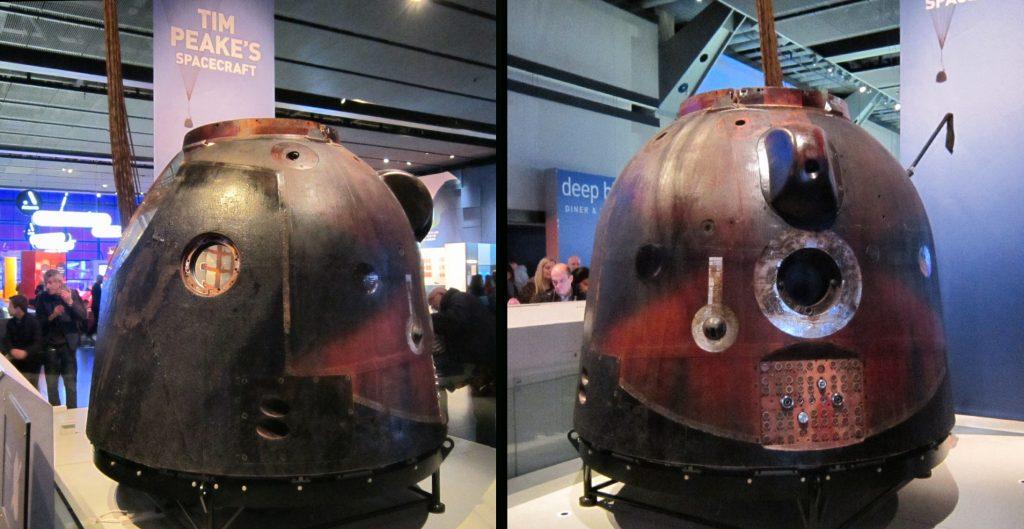 Tim Peake's Soyuz