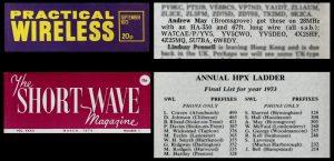 SWL magazines 1973