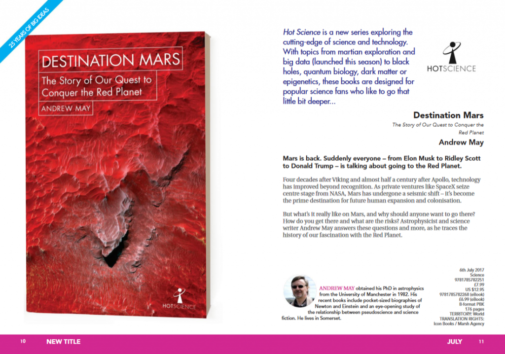 Hot Science - Destination Mars