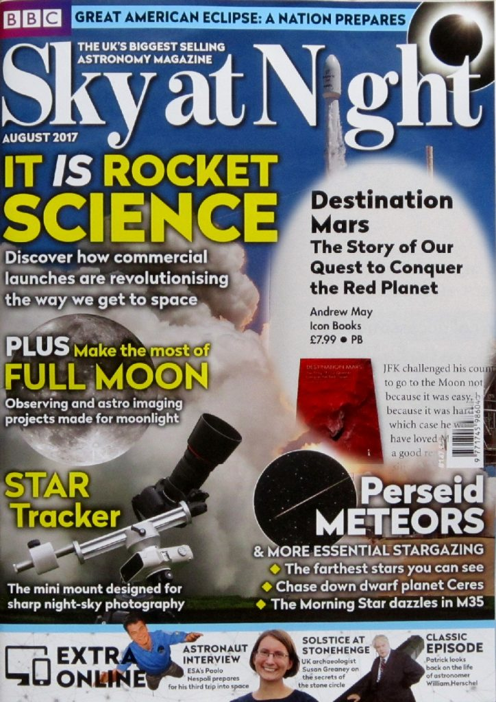 Sky at Night magazine August 2017