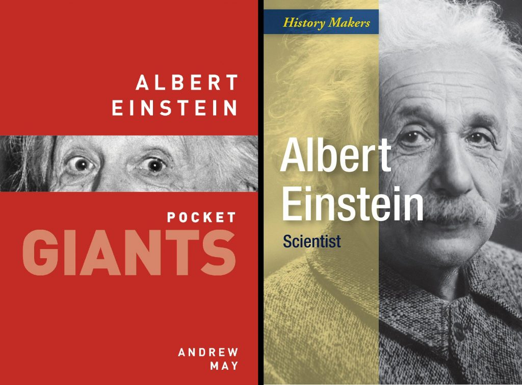 Einstein book covers