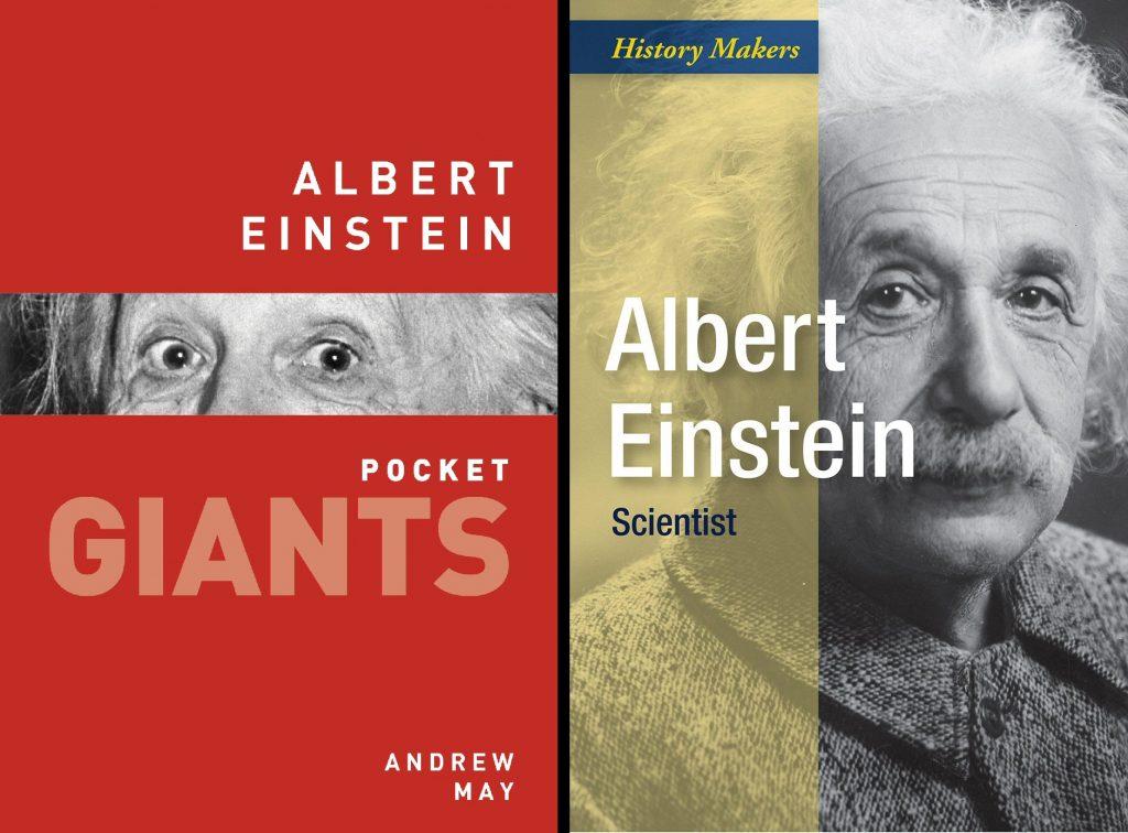 Einstein book covers