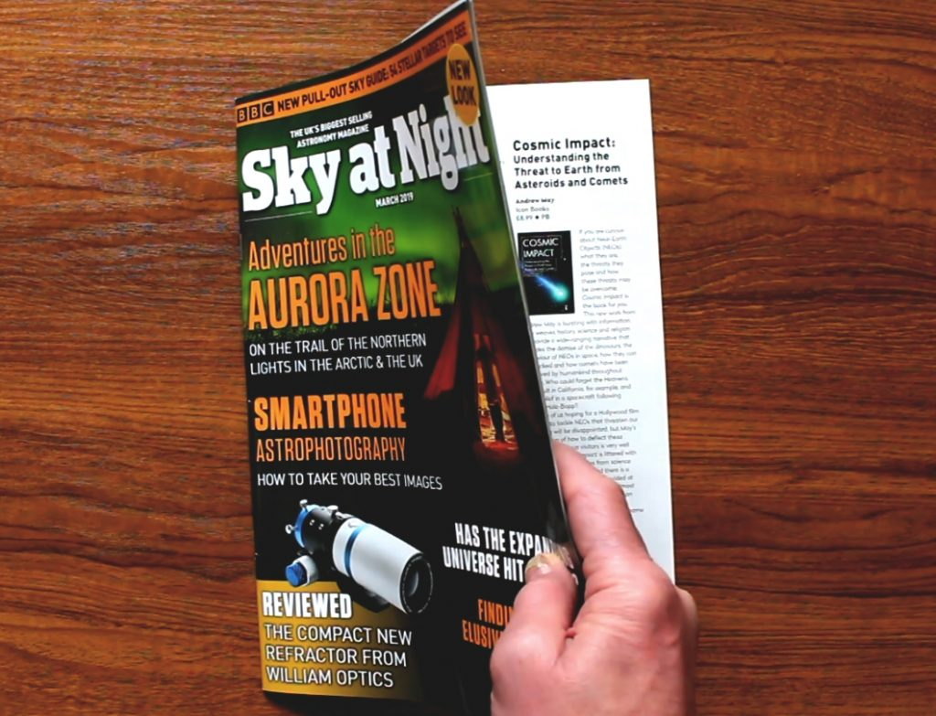 Sky at Night Cosmic Impact review