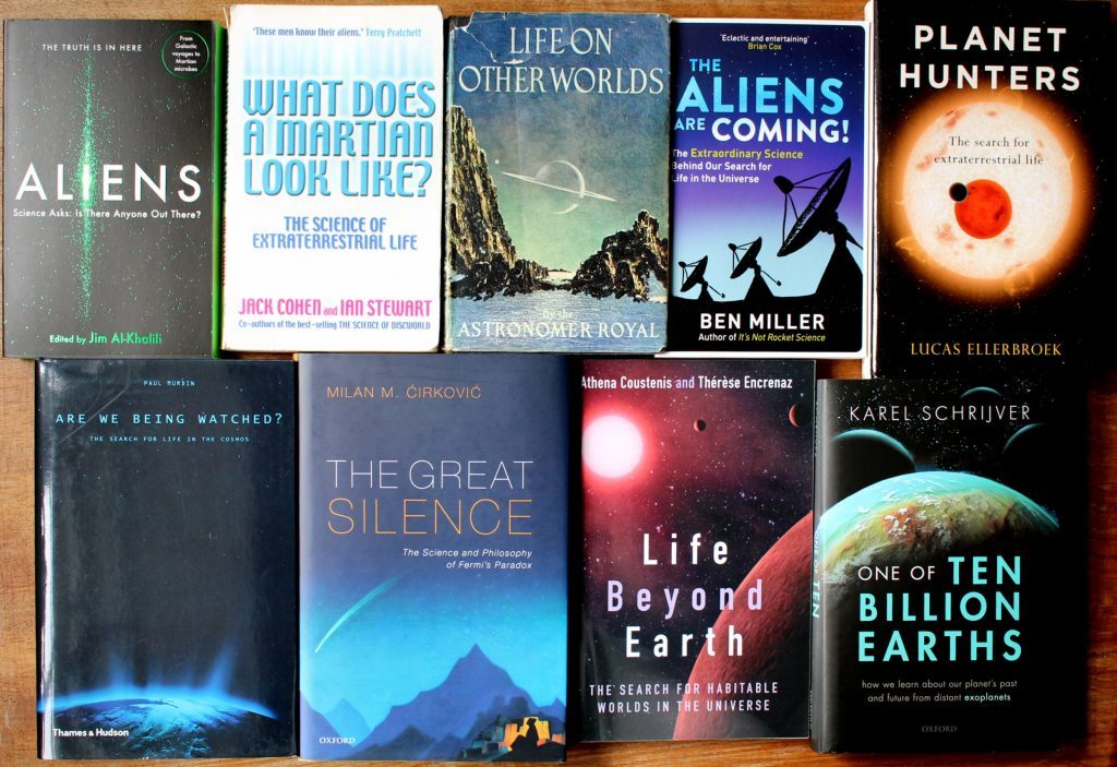 Astrobiology books