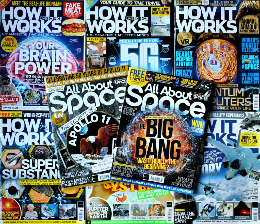 2019 magazine covers
