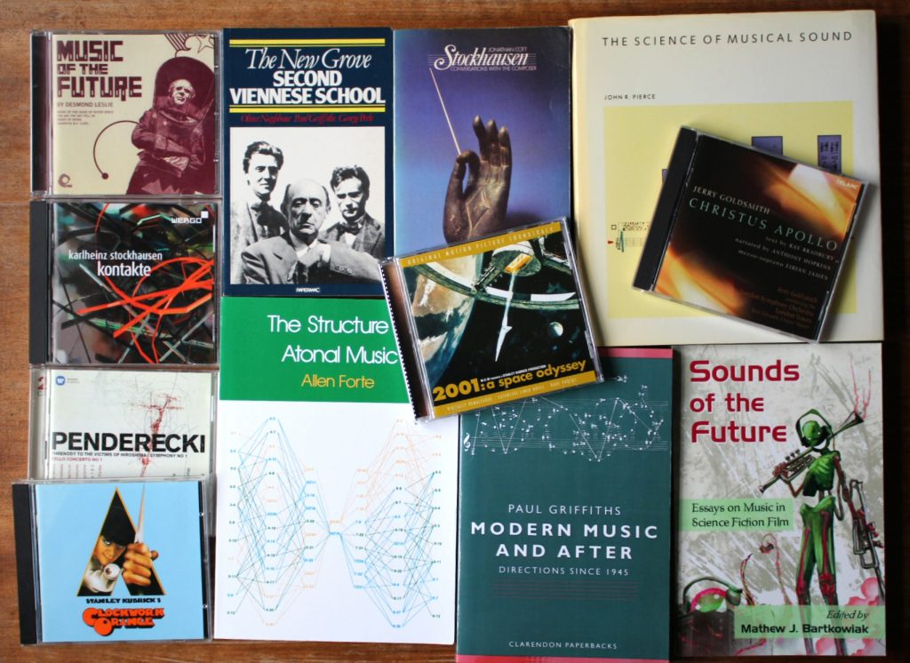 Sci-fi music books