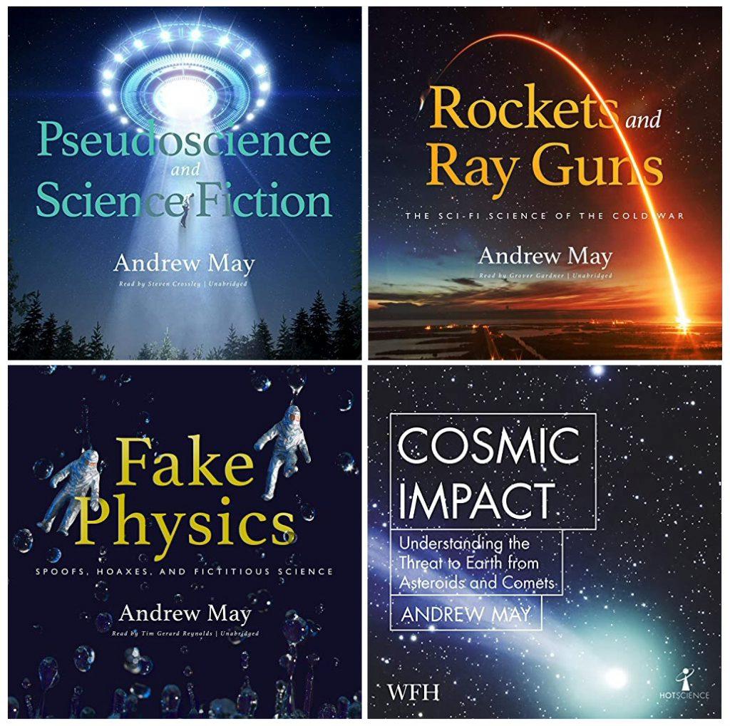 Andrew May's audiobooks